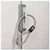 Kensington® Partition Cable Anchor, Gray