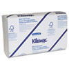 KIMBERLY-CLARK PROFESSIONAL* KLEENEX Multifold Paper Towels, 9 1/5 x 9 2/5, White, 150/Pack, 16/Carton