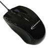 Innovera® Mid-Size Optical Mouse, 3 Buttons, Black, Blister Card