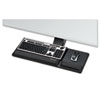 Fellowes® Designer Suites Compact Keyboard Tray, 19w x 9-1/2d, Black