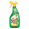 Sparkle Green Formula Glass Cleaner, 26oz Spray Bottle, 12/Carton