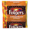Folgers® Coffee, Colombian, Ground, 1.75 oz Pack, 42/Carton