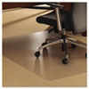 Floortex® Cleartex Ultimat Polycarbonate Chair Mat for Carpet, 48 x 79, Clear