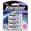 Energizer® e² Lithium Batteries, AA, 8 Batteries/Pack