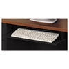 Alera Steel Keyboard Drawer, 23 x 14, Black