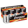 Energizer MAX Alkaline Batteries, D, 8 Batteries/Pack