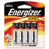 Energizer® MAX Alkaline Batteries, AA, 4 Batteries/Pack