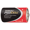 Procell Alkaline Batteries, D, 12/Box