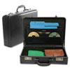 Bond Street, Ltd. Expandable Attaché Case, Koskin, 17-1/2 x 4-1/2 x 13, Black