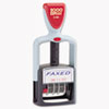 COSCO 2000 PLUS Two-Color Word Dater,