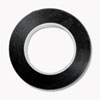 COSCO Art Tape, Black Gloss, 1/8