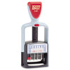 COSCO 2000 PLUS Two-Color Word Dater, Received, Self-Inking