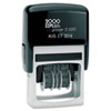 2000 PLUS® Economy Dater, Self-Inking, Black