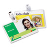 Fellowes® Laminating Pouches, 5 mil, 2 5/8 x 3 7/8, ID Size, 25/Pack
