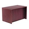Alera® Alera Valencia Series Straight Desk Shell, 47.25w x 29.5d x 29.63h, Mahogany