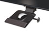Kelly Computer Supply Dual Swivel Adjustable Mouse Platform, 9-1/2w x 11d, Black