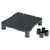 Kelly Computer Supply Monitor/Printer Stand,13 1/4 x 13 1/2 x 4, Black