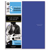 Five Star® Trend Wirebound Notebooks, College rule 8 1/2 x 11, 5 Subject 200 Sheets