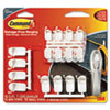 Command Cord Organizer Multi Pack, White