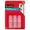 Scotch® Mounting Squares, Precut, Removable, 11/16