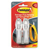 Command™ Cable Bundler, White, 2/Pack