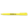 Paper Mate® Intro Highlighters, Chisel Tip, Fluorescent Yellow, 12/Pk