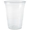 SOLO® Cup Company Plastic Party Cold Cups, 10oz, Clear, 50/Pack