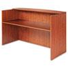 Alera® Alera Valencia Series Reception Desk with Counter, 71w x 35.5d x 42.5h,  Cherry
