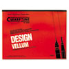Clearprint® Design Vellum Paper, 16lb, White, 18 x 24, 50 Sheets/Pad