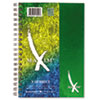 Roaring Spring® Maxim Notebook, College Rule, 6 1/2 x 9 1/2, 3 Subject, 138 Sheets, Assorted