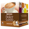 Dolce Gusto Coffee Capsules, Chococino, 2.67 oz., 16 per Box