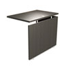 SedinaAG Series Reversible Return/Bridge, 47-1/4w x 23-5/8d x 29-1/2h, Espresso