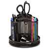 Rolodex™ Wire Mesh Spinning Desk Sorter, Black
