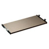 SedinaAG Series Underdesk Keyboard/Mouse Shelf, 30w x 14d, Espresso