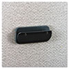 Universal One™ Recycled Plastic Partition Clip, 4-1/2w x 2h, Charcoal