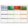 """Seasons In Bloom"" Erasable Planner, Jan.-Dec., Wall, 36"