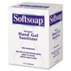 Softsoap® Fragrance-Free Instant Hand Gel Sanitizer Refill, 800mL Bag, Clear