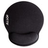 Allsop® MousePad Pro Memory Foam Mouse Pad with Wrist Rest, 9 x 10 x 1, Black