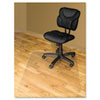 Advantus® RecyClear Chairmats for Hard Floors, 46 x 60, No Lip, Clear