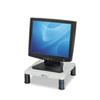 Fellowes® Height-Adjust Standard Monitor Riser, 13 1/8 x 13 1/2d x2-4, Platinum