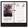 AT-A-GLANCE® Recycled Photographic Desk Calendar Refill, 3 1/2