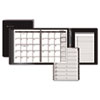 AT-A-GLANCE® Plus Monthly Planner, Black, 6 7/8