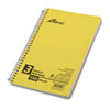 Oxford® Small Size Notebook, College/Medium Rule, 6 x 9-1/2, White, 150 Sheets/Pad