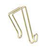 Artistic Products Coat Clip, Single-Sided Hook, 2 3/4 x 4 3/4, Polished Brass