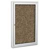 BALT® Enclosed Rubber-Tak Bulletin Cabinet, 24