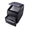 Swingline® Stack-and-Shred 80X Light-Duty Cross-Cut Shredder, 80 Sheet Capacity