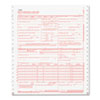Paris Business Products CMS Forms, 2 Part Continuous White/White, 9 1/2 x 11, 1000 Forms