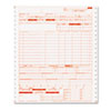 Paris Business Products UB04 Claim Forms, 2 Part Continuous White/Canary, 9 1/2 x 11, 1000 Forms