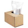 Fellowes® Shredder Waste Bags, 50 gal Capacity, 50/Carton