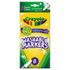 Crayola® Washable Markers, Fine Point, Classic Colors, 8/Pack